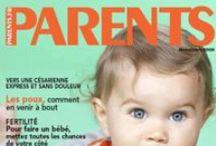 Magazines pour les parents / Babybook, Babymag, Famili, Parents, Le journal des mamans, Kidy Swissfamily...