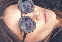 Sun glasses / Let the sun shine through my glasses