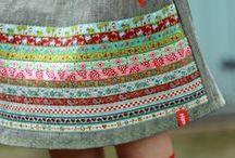 Bandas tejidas - Inspiración / Has cosido con las bandas tejidas de Hilos y Más? Qué te parece si nos lo enseñas?