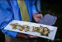 Hors D'oeuvres / Passed Hors D'oeuvres created by the chefs at Forks & Fingers Catering