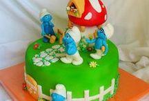 Anniversaire Schtroumpf / Des idées pour réaliser l'anniversaire de votre enfant sur le thème des schtroumpfs...