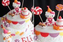 Anniversaire Hello Kitty / Des idées pour réaliser l'anniversaire de votre enfant sur le thème d'Hello Kitty...