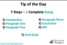 Writing Tips and guide / Research Prospect Pvt Ltd writing tips help the students to flourish their writing capabilities.