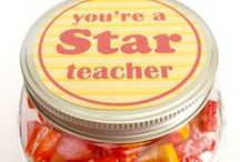 Teacher Appreciation and End of School Year Activities / Whether you are the Room Mom or just want to help make the end of year a celebration for your kids and their teachers, here is the place to get ideas.