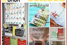 Back to School / So, you have the back to school clothes shopping done, but you want to make the new school year fun.  Look at these ideas for crafts, parties, projects and more.