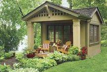 Dream Backyards and Outdoor Living Spaces / When you dream of a beautiful backyard, you probably are seeing these ones!