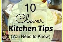 Cooking Tips and Tricks / There is always an easier way to do something in the kitchen. Check out these tips and tricks to make cooking easier.