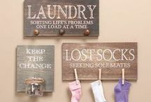 Laundry Room Organization, Tips & Tricks / If you have to do laundry, use these tips and tricks to make it better.