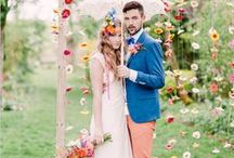 Wedding Fashion for Brides and Grooms