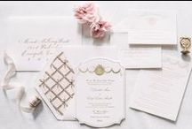 Wedding Invitations / The right invitation will set the scene for your wonderful wedding day.