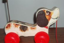 Vintage toys / Mostly fisher price from the 70's, trucks like Tonka or Buddy L, Hot Wheels, etc. / by Marcia Davis