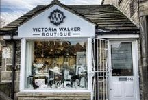 Victoria Walker Boutique / A beautiful shop in the heart of Farsley Village, Leeds. Specialising in Bespoke Wedding Jewellery, gifts & accessories for the whole wedding party.  With over 10 years of experience in the wedding industry, Victoria Walker a Jewellery Artisan is a specialist in Bridal Accessory design. Offering Brides unique one off pieces designed specifically for them and their wedding gowns with an elegant and eclectic vintage feel.  www.VictoriaWalkerBoutique.com