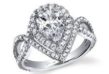 Diamonds, Pearls, Baubles and Beads / Wedding worthy jewels and gorgeous diamond rings. / by About the Details