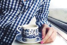 Wish List / Tea, Stripes, Pearls, Floral, Navy, just a few of my favourite things and inspiration for gifts.
