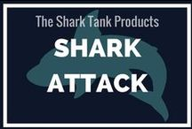 Shark Attack! / My board for keeping up with everything that's going on with the sharks from Shark Tank.