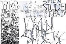 Kalligraphie, Typographie / by Heinz G.