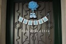 Fioreria Oltre new baby decorations / Baby showers/ Newborn decorations/ Baptism ceremony and reception/ Christenings