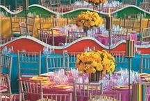 Colourful / Colourful floral arrangements and decorations