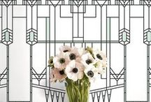 Black & White / Floral arrangements and decorations in black and white