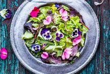 Cuisine des fleurs / Edible flowers