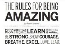 What Motivates Me / People who have succedded in life, rules for an amazing life, motivating phrases !