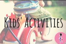 Kids' Activities / Ideas, inspiration, tips, and freebies for fun and educational activities to do with your children! We love to share indoor and outdoor activities, crafts, and DIYs for infants, toddlers, teens, and all kids in between!