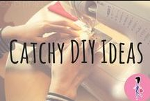 Catchy DIY Ideas / We love DIYs! Follow for all our favorite frugal DIY projects and tips, from handmade gifts, jewelry, makeup, and fashion, to wedding and home decor tutorials and even homemade cleaning supplies!