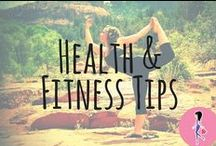 Health & Fitness Tips / Tips, tricks, samples, deals, and inspiration for all your questions about health, fitness, weight loss, Pilates/HIIT/cardio/weightlifting workout plans, clean eating and Paleo diets, the gym, and more!