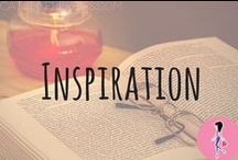 Inspiration / Where do you find inspiration? Follow this board for inspirational quotes, images, articles, and more to get you through your day.