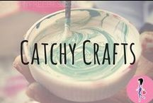 Catchy Crafts / Get crafty with our favorite tips, tricks, samples, freebies, and inspiration galore for all the craft projects you could want! We can't get enough of jewelry and flower crafts or knitting and crocheting patterns, but we also LOVE kids' crafts!