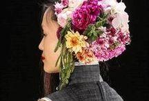 Floral hats & headpieces