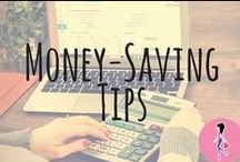 Catchy Money Saving Tips / Save money with our favorite tips for scrimping, saving, budgeting, recycling, reusing, upcycling, and DIY-ing throughout your home and family life!