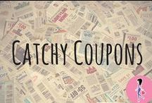 Catchy Coupons / Save money on family, baby, hair, makeup, and home essentials with coupons from CatchyFreebies!