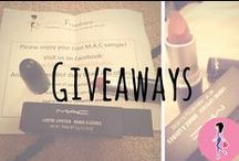 Giveaways! / Featuring our freebie giveaways, sample boxes, and lucky winners! Check back for new promotions and your chance to get free samples of beauty, makeup, hair, baby, household, food, and family products!