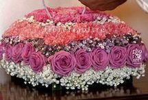 Fioreria Oltre floral ring bearer pillows