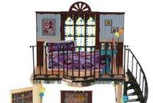 Dollhouse with Stairs / Dollhouse with stairs