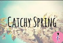 Catchy Spring! / Spring has sprung! Follow this board for all the best springtime fashion and outfit inspiration, decorations, nails and hairstyle tutorials, recipes, crafts, DIYs, activities, makeup tips, and more!
