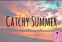 Catchy Summer! / We love the summer! Follow this board for all the best summertime fun, fashion and outfit inspiration, decorations, nails and hairstyle tutorials, BBQ recipes, crafts, DIYs, activities, beach body workouts, makeup tips, and more!