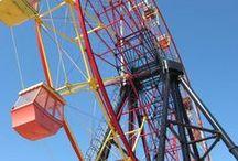 Ferris Wheel / miniature Ferris wheel