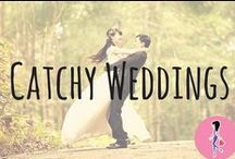 Catchy Weddings / Make your big day the best ever with our favorite engagement and wedding samples, freebies, recipes, DIYs, crafts, trendy dresses and suits, bridal shower and party inspiration, money saving tips, and more!