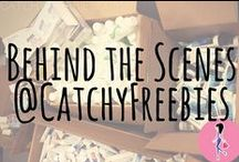 "Behind the Scenes at CatchyFreebies! / Welcome to our office! Here we share pics and videos of giveaways, sample boxes, our samples corner, and more! Get a behind-the-scenes look at what goes on at CatchyFreebies ""offline,"" right here on Pinterest!!"