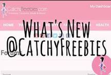 Welcome to the NEW CatchyFreebies.com! / We just launched a fabulous redesign of your favorite freebie site! Check out all the new features available to our members, including a Forum, Dashboard, and more to help you find more freebies and samples!