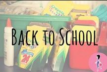 Back to School! / Follow for all the best back to school and college dorm hacks, school lunch recipes, homeschool room and curriculum inspiration, money saving tips, teacher gifts, class activities, crafts, DIYs, and more!