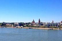 Rhine River | Mainz am Rhein / Mainz is located on the Rhine River. if you want to know more about the riverside visit: http://www.mainz.de/freizeit-und-sport/im-gruenen/rheinufer.php
