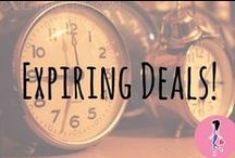 ★ Expiring Deals! ★ / Don't miss out on these amazing offers! Follow for daily samples, freebies, coupons, and other deals that are expiring soon! You'll find the hottest beauty, makeup, baby, household, food, and family product sample and freebie offers!