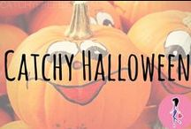 Catchy Halloween ☠ / Follow this board for the ultimate Halloween costume guide, decorations, DIYs, spooky crafts, kids' activities, recipes, makeup inspiration, nails and hairstyle tutorials, and trick or treat tips!