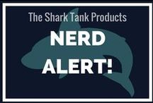 Nerd Alert! / Ever need to just NERD OUT? I definitely do, and these pins from Shark Tank (the TV show) are just the thing to help me :)