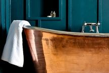 Bath Bliss / Great bath design and style.