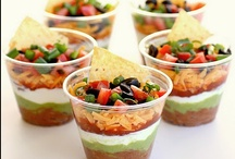 Appetizers / Yummy sweets for your party guests!