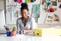 Pattern Design - We Love Khristian Howell / Khristian is a color and pattern expert who creates artwork for a range of licensed products including fabrics, stationery, wallcoverings, and more.